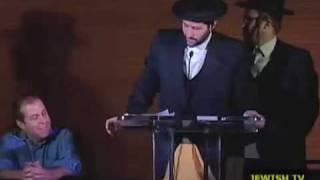 comedy roast hasidic style