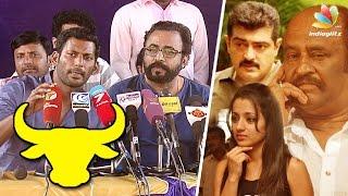 getlinkyoutube.com-Every Celebrity Should Attend Jallikattu Silent Protest: Nadigar Sangam | Vishal, Trisha, Ajith