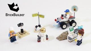getlinkyoutube.com-Lego City 60077 Space Starter Set - Lego Speed Build