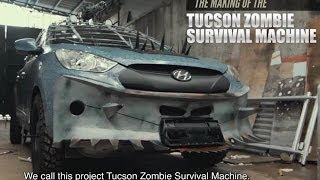 getlinkyoutube.com-The Making of the Hyundai Tucson Zombie Survival Machine