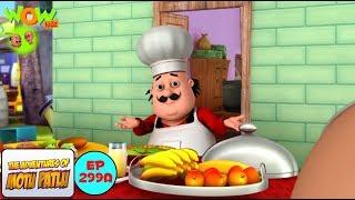 Motu The Chef - Motu Patlu in Hindi - 3D Animation Cartoon - As on Nickelodeon