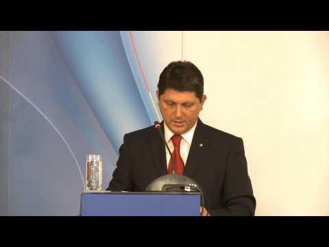 Deschiderea oficială a Reuniunii Anuale a Diplomaţiei Române de către ministrul afacerilor externe, Titus Corlăţean