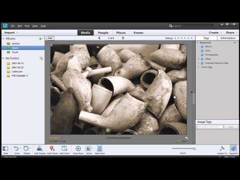 Sorting and Organizing in Photoshop Elements 11