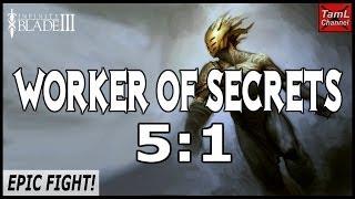 getlinkyoutube.com-Infinity Blade 3: WORKER OF SECRETS 5:1 EPIC FIGHT!