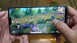 Test game PUBG Mobile in OPPO F7