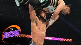 getlinkyoutube.com-Mustafa Ali vs. Tony Nese: WWE 205 Live, Jan. 17, 2017
