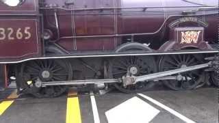 getlinkyoutube.com-wheel spin from steam loco 3265