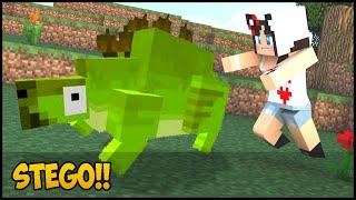 getlinkyoutube.com-Minecraft: DinoCraft #10 - Stego nosso primeiro Dinossauro!