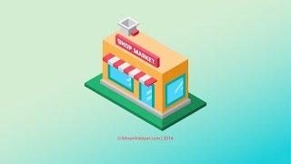getlinkyoutube.com-Building Shop Isometric - Illustrator Tutorials