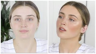 HOW TO: FLAWLESS SKIN WITH NO FOUNDATION | DESI PERKINS width=