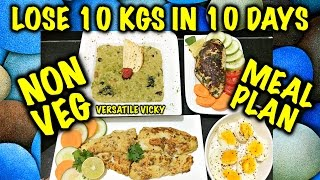 getlinkyoutube.com-How to Lose Weight Fast 10Kg in 10 Days - 1200 Calorie Non Veg Meal Plan | Diet Plan