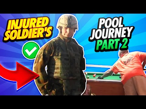 14 Days - The Great Pool Experiment Reno, Nevada - Sgt. Robert Evans, US Army (RET) - Day 1