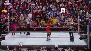 getlinkyoutube.com-WWE SuperStars Santina and Kelly Kelly vs Beth Pheonix Rosa Mendes