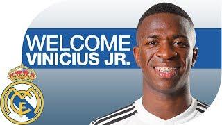 Vinicius Jr.   NEW REAL MADRID PLAYER width=