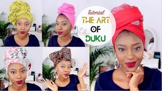 getlinkyoutube.com-Headwrap/Turban Tutorial | 5 Quick & Easy Ways To Tie Your Duku