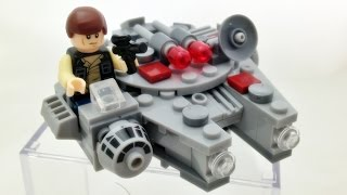 getlinkyoutube.com-sy 스타워즈 마이크로파이터 밀레니엄 팔콘 레고 짝퉁 우주선 lego knockoff 75030 millennium falcon