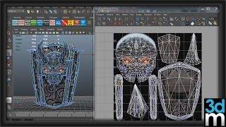 getlinkyoutube.com-Maya UV Texture Editor Basics - 3dmotive