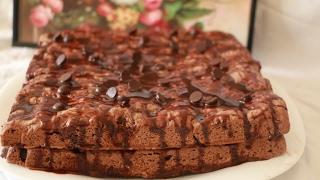 getlinkyoutube.com-كيكة كوكيز سهلة و سريعة التحضير في المتناول مع طبخ ليلى cake