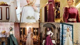 getlinkyoutube.com-Gamze Polat 2015 tesettür abiye elbise tunik kap online