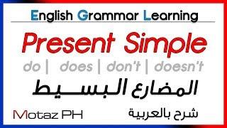 getlinkyoutube.com-✔✔ Present Simple  - تعلم اللغة الانجليزية - المضارع البسيط