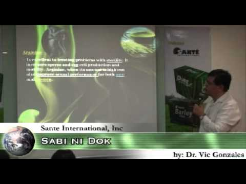 Sabi ni Dok on Nutrition and Pure Young Barley Grass