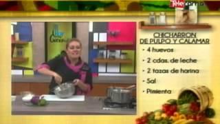 getlinkyoutube.com-Chicharrón de pulpo y calamar
