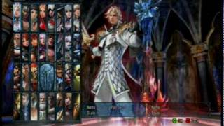 getlinkyoutube.com-Soul Calibur 5 All Characters Including Unlockables and DLC