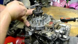 getlinkyoutube.com-BRIGGS AND STRATTON LAWN MOWER ENGINE REPAIR :  HOW TO DIAGNOSE AND REPAIR A BROKEN FLYWHEEL KEY