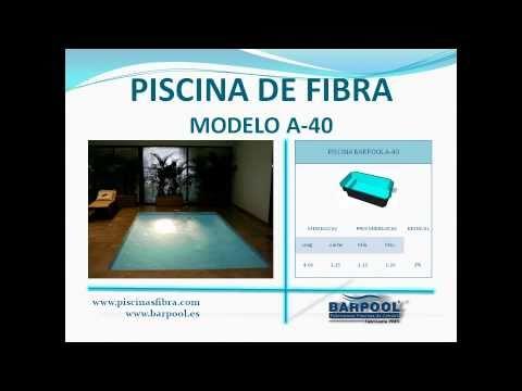 PISCINA FIBRA - CATALOGO MODELOS BArPool Piscinas
