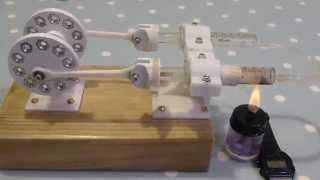getlinkyoutube.com-Make the 3D Printed Stirling Engine Run Faster