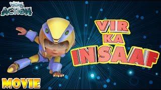 Vir: The Robot Boy   Hindi Cartoons for kids   Vir Ka Insaaf   Movie   WowKidz Action width=