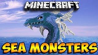 getlinkyoutube.com-Minecraft Mods: Sea Monsters - Sea Serpents, Swordfish & More! (Minecraft Mod Showcase)