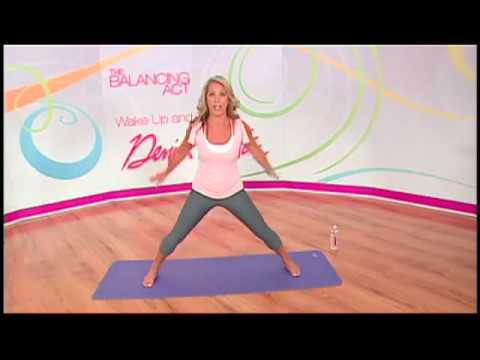 Low impact aerobics and yoga