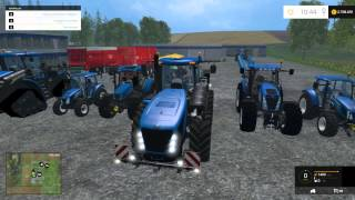 getlinkyoutube.com-Farming Simulator 2015 New Holland Tractor Mods Pack