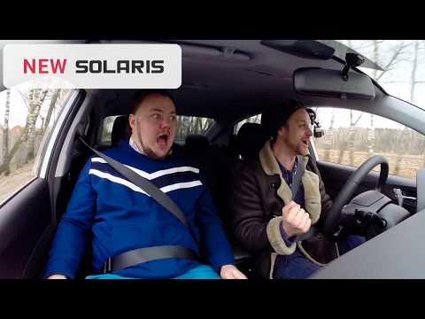 Тест рулевого управления Hyundai Solaris 2018 в новом кузове - гидроусилитель VS электроусилитель.