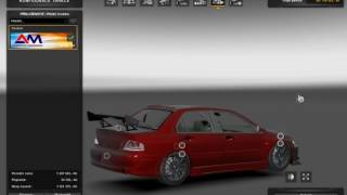 getlinkyoutube.com-[ETS2]Euro Truck Simulator 2 Mitsubishi Lancer Evo VIII MR v 2.0