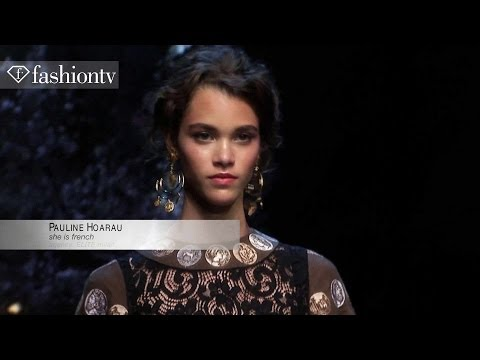 Pauline Hoarau - Model at Spring/Summer 2013-14 | Trentemoller