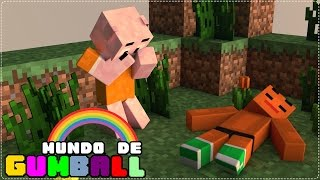getlinkyoutube.com-Minecraft: O DARWIN MORREU?! - MUNDO DE GUMBALL #10 - Machinima
