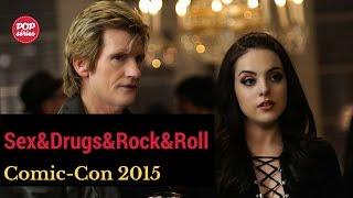 SDCC 2015: Denis Leary e Elizabeth Gillies de Sex&Drugs&Rock&Roll