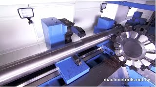 getlinkyoutube.com-Heavy Duty Lathe/Heavy Duty Precision Lathe/Lathe Machine/CNC Lathe/Lathe  - HD Video by S&J Corp.
