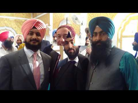 How to wear a turban in an Indian wedding NAGPAL TURBAN ACADEMY JLD 94179 57264