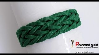 getlinkyoutube.com-Gaucho knot paracord bracelet- starting simple