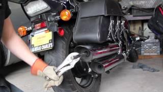 "getlinkyoutube.com-How to: Suzuki M50 ""Honest Abe"" Exhaust Mod"