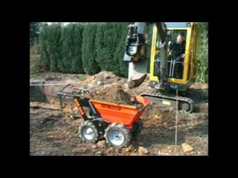 Muck-Truck www.mucktruck-deutschland.com Movie Video Film Clip Belle BMD Loadrunner Minidumper