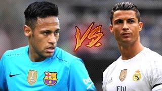 Cristiano Ronaldo vs Neymar JR ● Magic Skills Show | 2016/17 HD