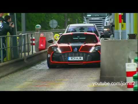 Gumball 3000 - Aston Martin One-77 LOVELY Sound!! - 1080p HD