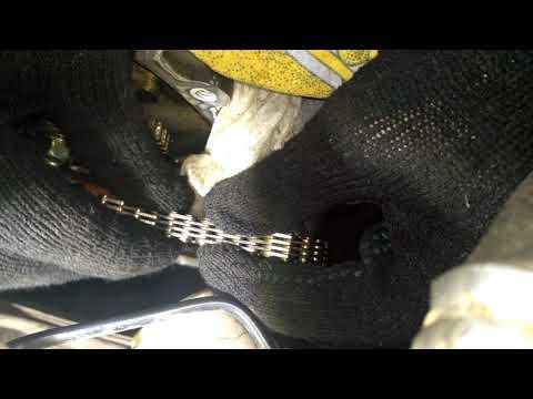 Люфт звеньев цепи ГРМ двигателя Honda L15A