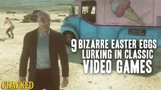 9 Bizarre Easter Eggs Lurking In Classic Video Games