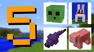 getlinkyoutube.com-✔ Minecraft: 5 Mob Textures That Were Changed