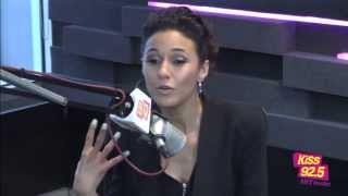 getlinkyoutube.com-Emmanuelle Chriqui In Studio | Interview | The Roz & Mocha Show on KiSS 92.5